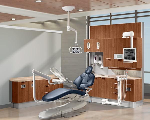 fauteuil dentaire adec 400